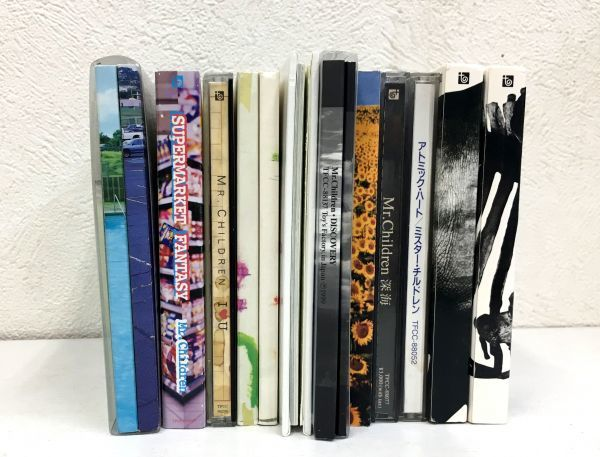 ミスターチルドレン CDアルバム11枚セット ベスト盤含む ミスチル 送料無料 _画像2