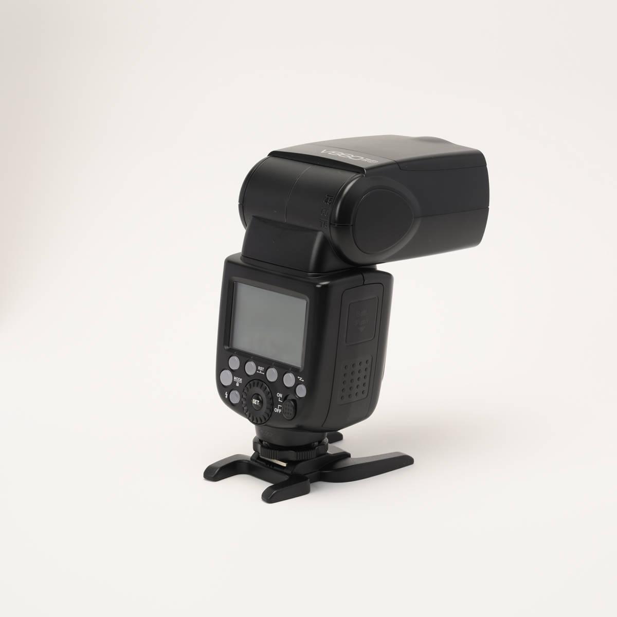 Godox V860IIF 富士カメラ用 カメラフラッシュ 2.4GHz ワイヤレスX1システム TTL GN60 充電式電池_画像5