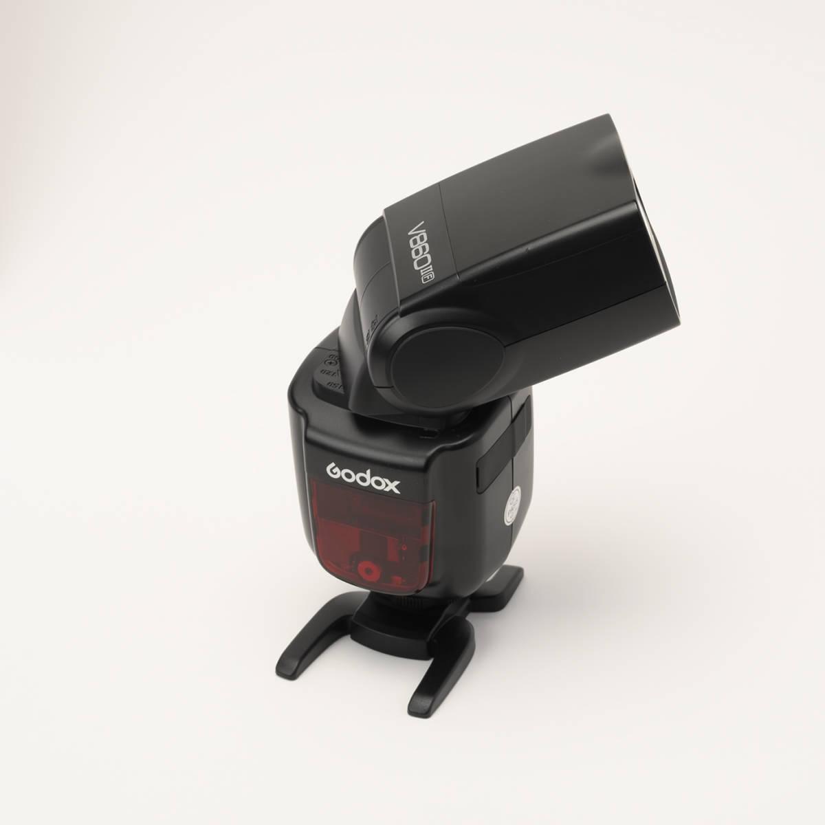Godox V860IIF 富士カメラ用 カメラフラッシュ 2.4GHz ワイヤレスX1システム TTL GN60 充電式電池_画像6