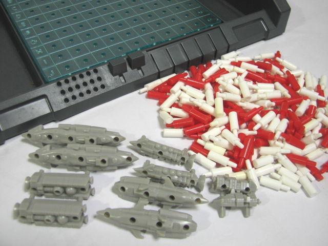 ビンテージ ボードゲーム 旧タカラ/ミルトン ブラッドリー(Milton Bradley) コンピューターゲーム スペースバトル_画像8