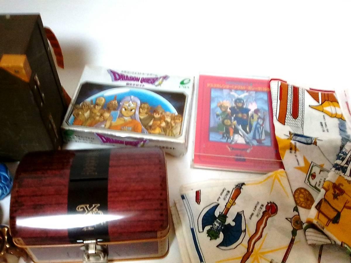 即決 ドラゴンクエスト11種 鉄の金庫 カンペン 商人の宝箱 銀のタロット武器防具ハンカチ 爆弾岩 メタル メタルキング ドラクエ_画像3