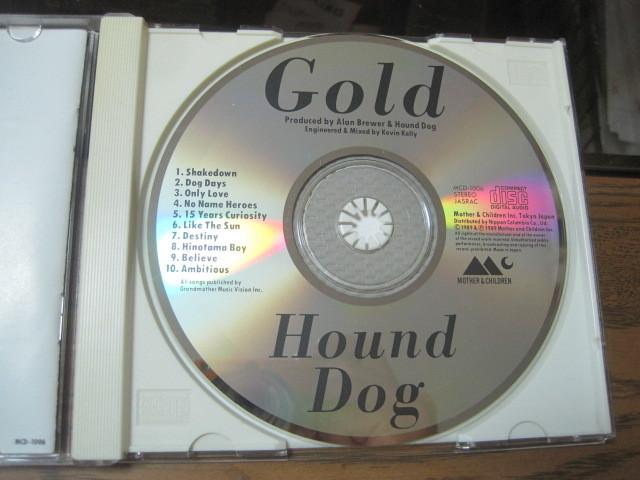 Hound Dog ハウンドドッグ★CD「GOLD」_画像3