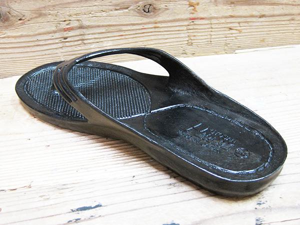 Made in JAPAN!丈夫で滑りにくいおしゃれサンダル!ビーチサンダル ギョサン (GYOSAN メンズ LL)26~27cm ゴムサンダル 便所サンダル_画像7
