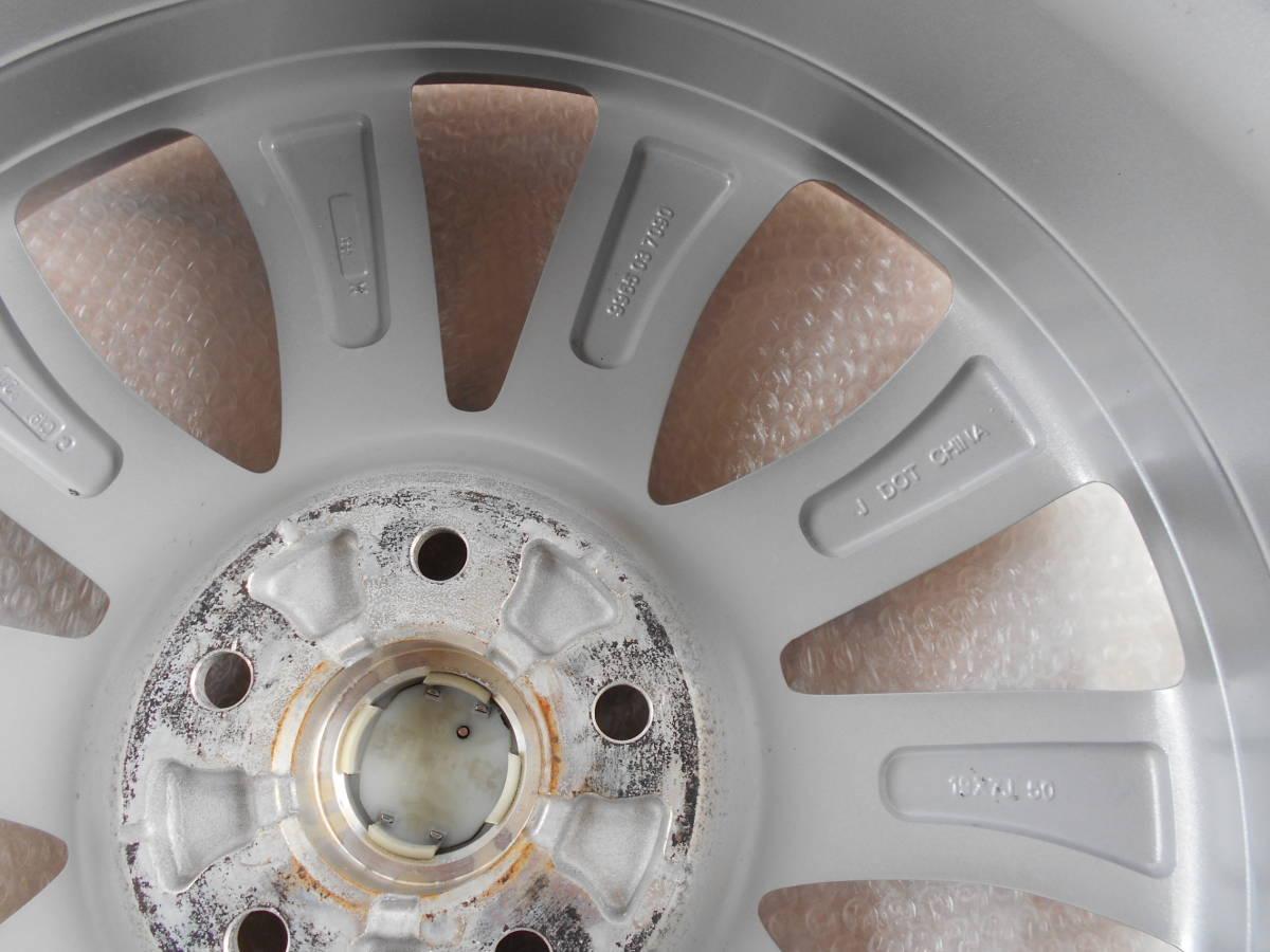 ◆新車外し近し マツダ CX-5純正ホイール4本セット アテンザ CX-3 CX-8 ロードスター プレマシー マツダ5穴車全般に_画像6