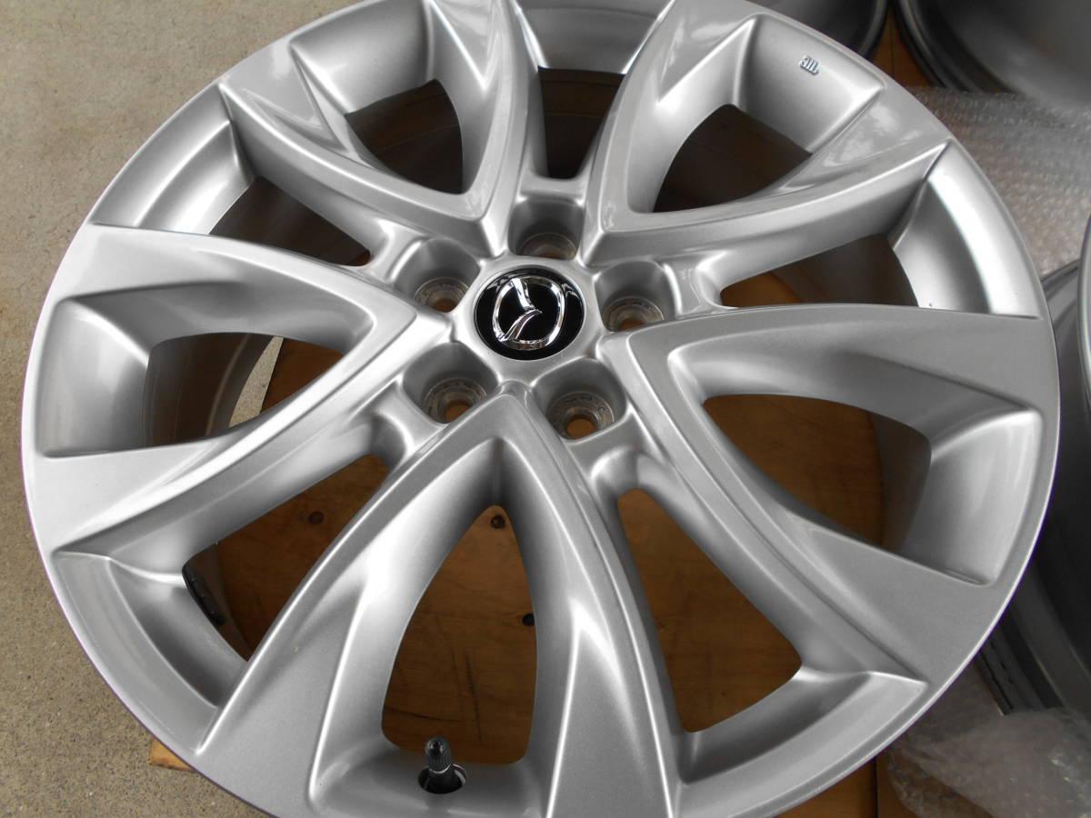 ◆新車外し近し マツダ CX-5純正ホイール4本セット アテンザ CX-3 CX-8 ロードスター プレマシー マツダ5穴車全般に_画像9