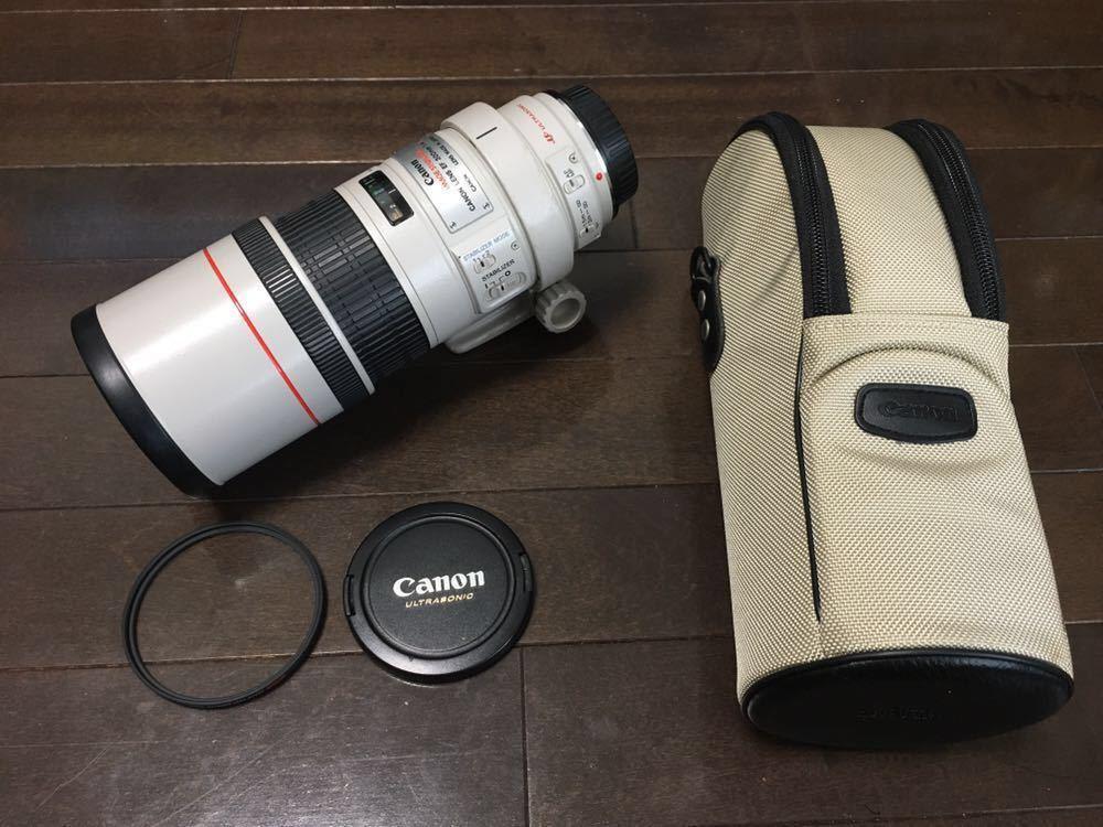 ★美品★Canon キャノン EF 300m F4L IS USM 望遠 単焦点レンズ