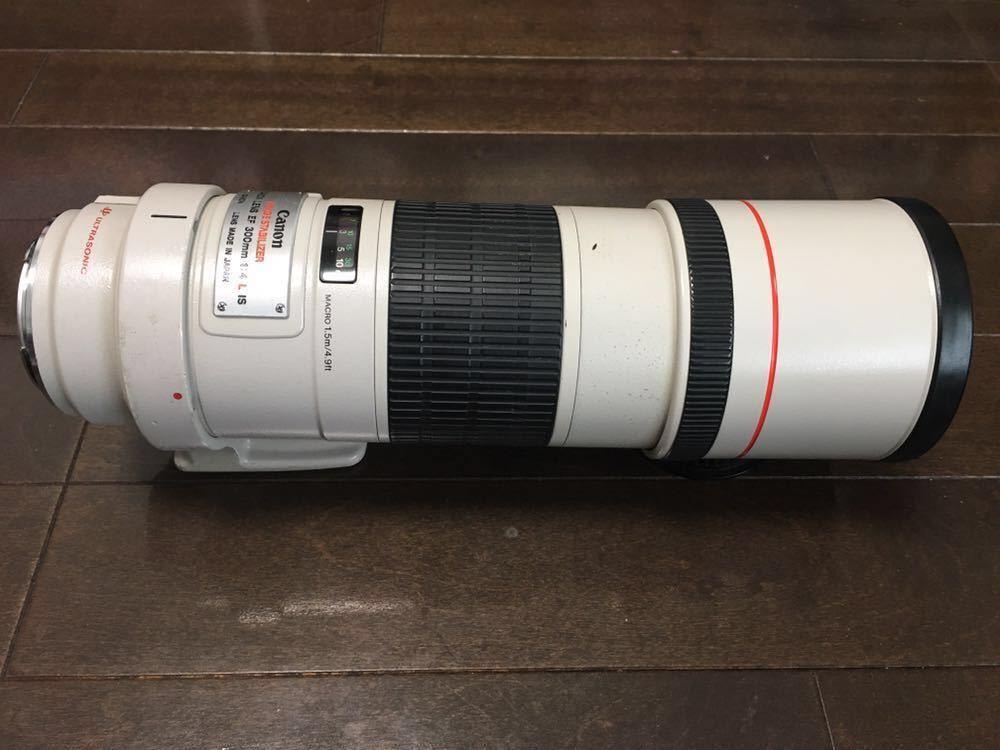 ★美品★Canon キャノン EF 300m F4L IS USM 望遠 単焦点レンズ_画像3