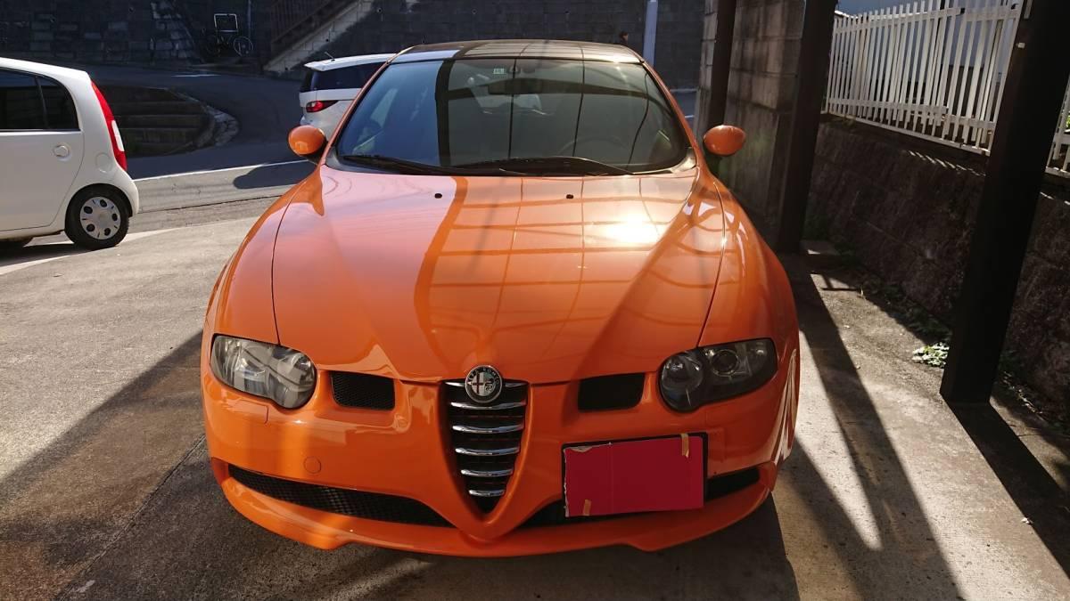 売り切り 147GTA 6MT ソーラーオレンジ!_画像3