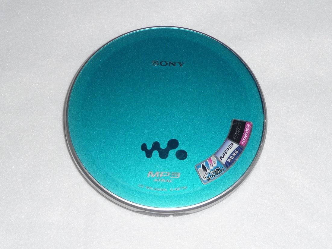 ●送料無料●CDウォークマン●SONY D-NE730 ブルー●動作品 リモコン&イヤホン付●高音質/MP3/ポータブル/CD-R/CD-RW_画像3