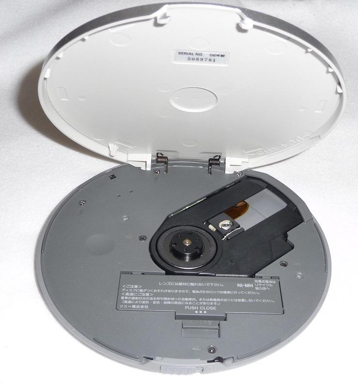●送料無料●CDウォークマン●SONY D-NE730 ブルー●動作品 リモコン&イヤホン付●高音質/MP3/ポータブル/CD-R/CD-RW_画像5