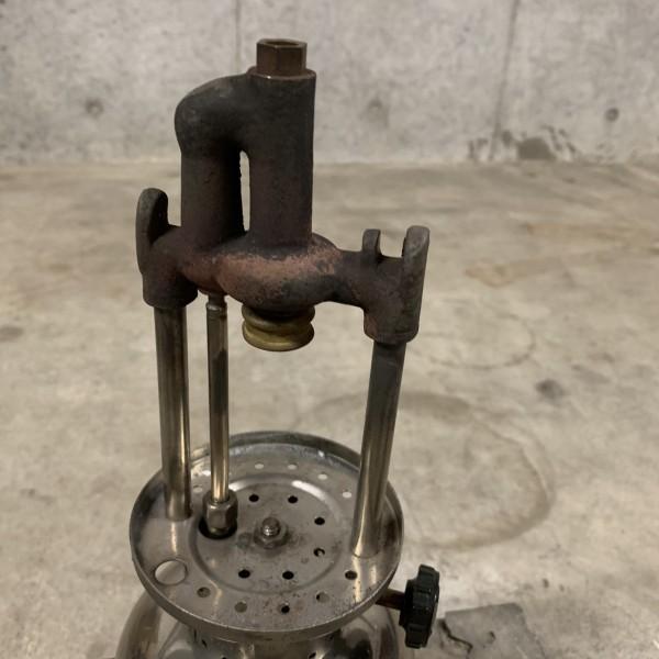 超貴重 美品 Coleman コールマン ジュニア 242 1934年3月製造 新品レプリカマイカグローブ NRV逆止弁バルブタイプ_画像6