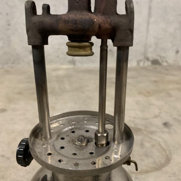 超貴重 美品 Coleman コールマン ジュニア 242 1934年3月製造 新品レプリカマイカグローブ NRV逆止弁バルブタイプ_画像7