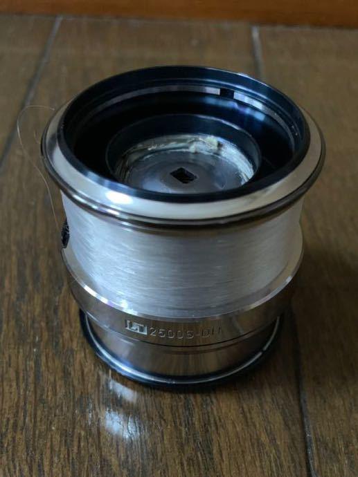 美品 ダイワ 18 イグジスト LT 2500S-DH スプール エギング アジング_画像2