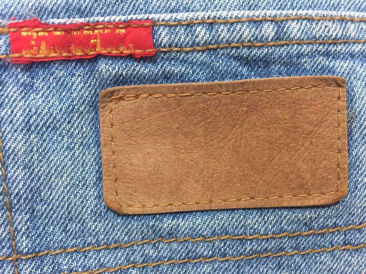 EL JOHN デニム半ズボン 160-170cm (ブルーウォッシュ)_画像4