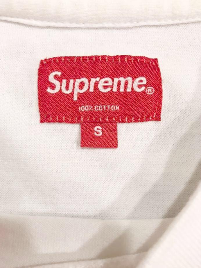 シュプリーム SUPREME 18AW Reflective Small Box Logo Tee Tシャツ 白 Size_画像4