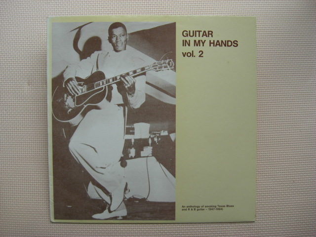 *【LP】【V.A】Guitar In My Hands Vol. 2 /Lightnin' Hopkins、Goree Carter、Pee Wee Crayton他(blp110)(輸入盤)_画像1