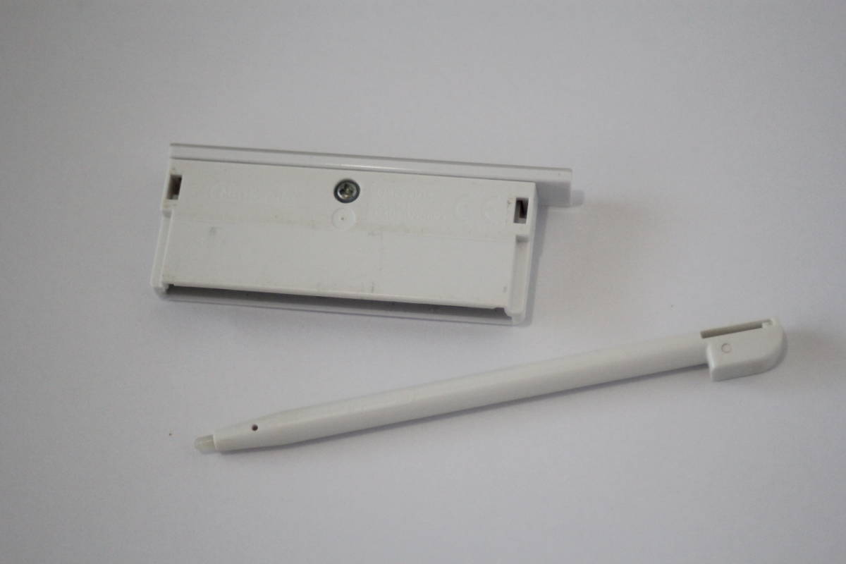 ニンテンドーDSLite専用 タッチペン・GBAコネクタカバーセット クリスタルホワイト USG-004/USG-005 [純正]