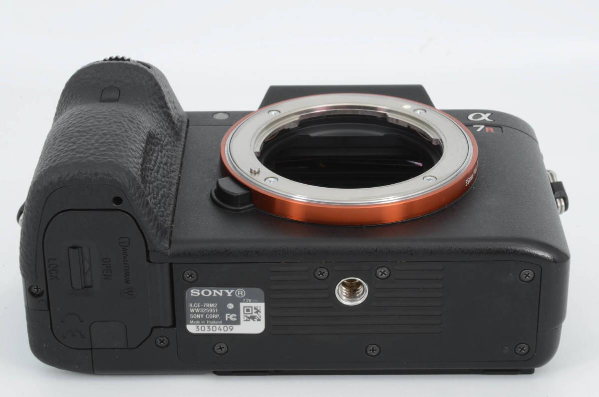 ◆新品級◆ ソニー Sony ILCE-7RM2 α7R II ボディ フルサイズミラーレス一眼カメラ (YO-Q79)_画像5