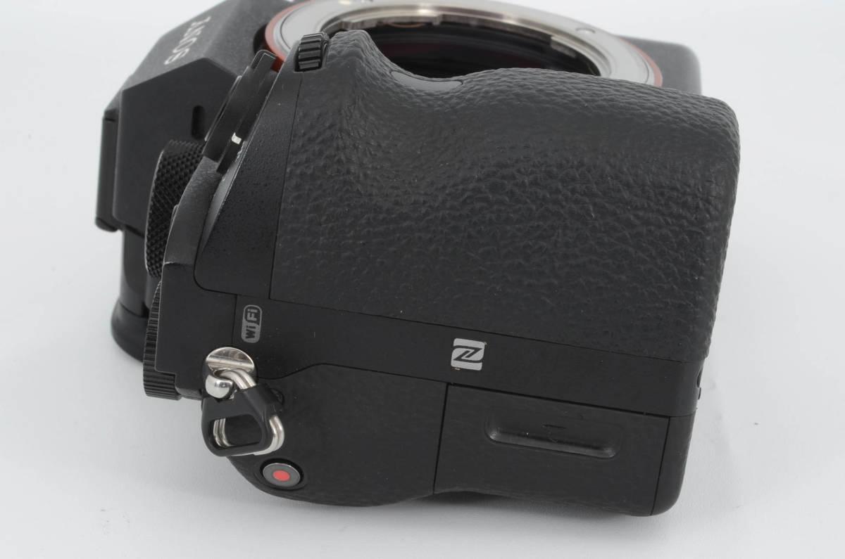 ◆新品級◆ ソニー Sony ILCE-7RM2 α7R II ボディ フルサイズミラーレス一眼カメラ (YO-Q79)_画像7