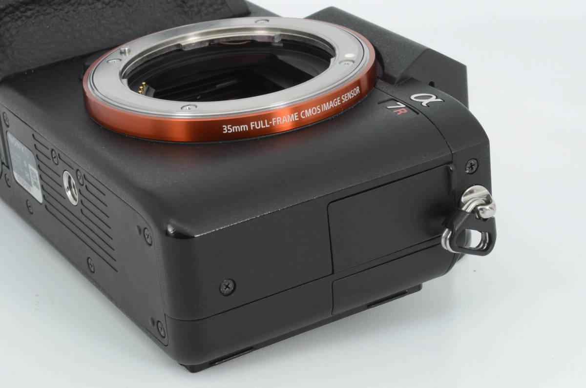 ◆新品級◆ ソニー Sony ILCE-7RM2 α7R II ボディ フルサイズミラーレス一眼カメラ (YO-Q79)_画像6