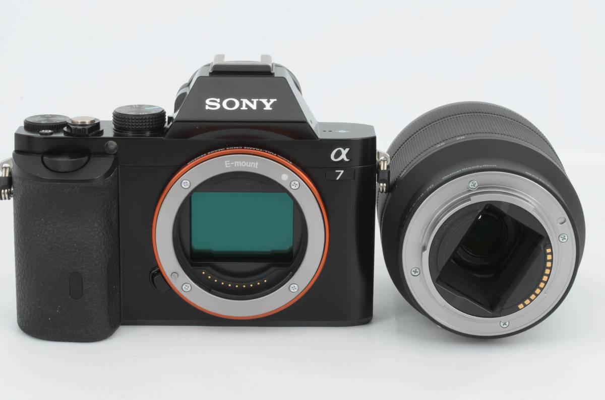 ◆新品級◆ ソニー Sony ILCE-7K α7 + FE 28-70mm F3.5-5.6 ズームレンズキット 元箱付き (YO-Q88)_画像7
