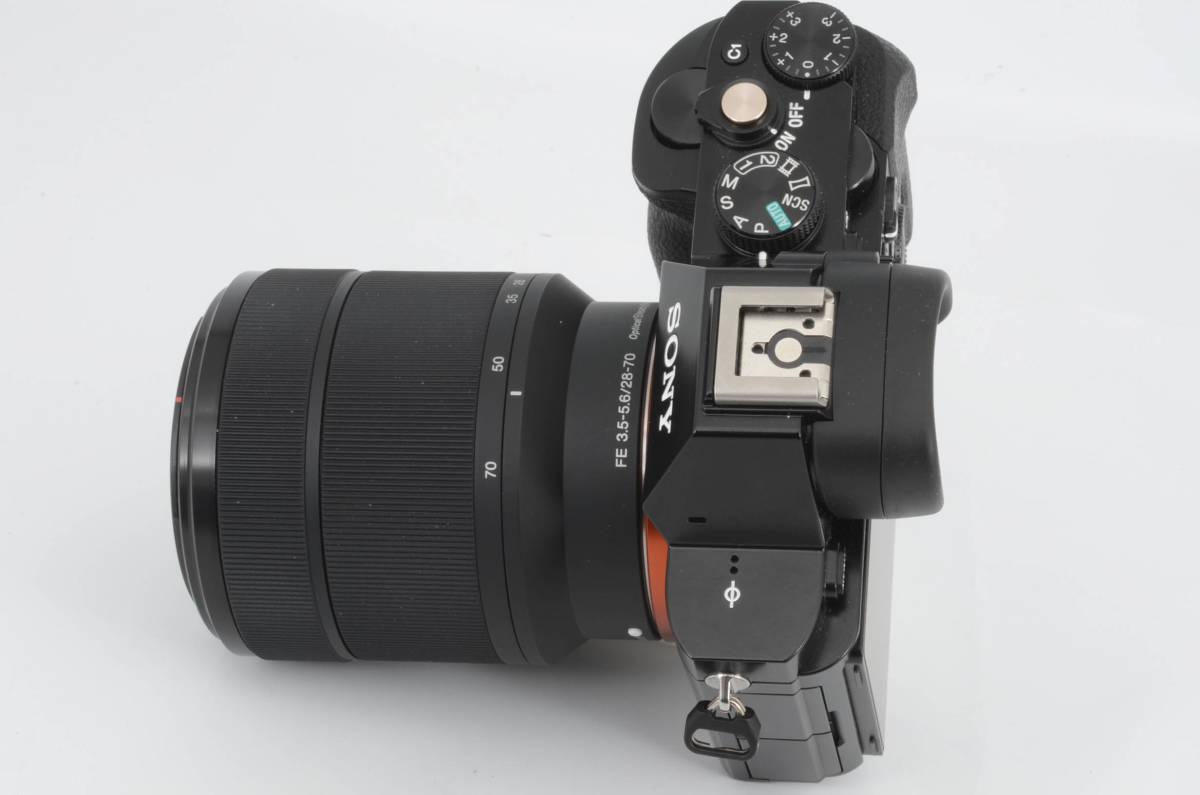 ◆新品級◆ ソニー Sony ILCE-7K α7 + FE 28-70mm F3.5-5.6 ズームレンズキット 元箱付き (YO-Q88)_画像5