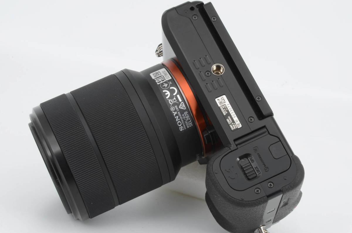 ◆新品級◆ ソニー Sony ILCE-7K α7 + FE 28-70mm F3.5-5.6 ズームレンズキット 元箱付き (YO-Q88)_画像6