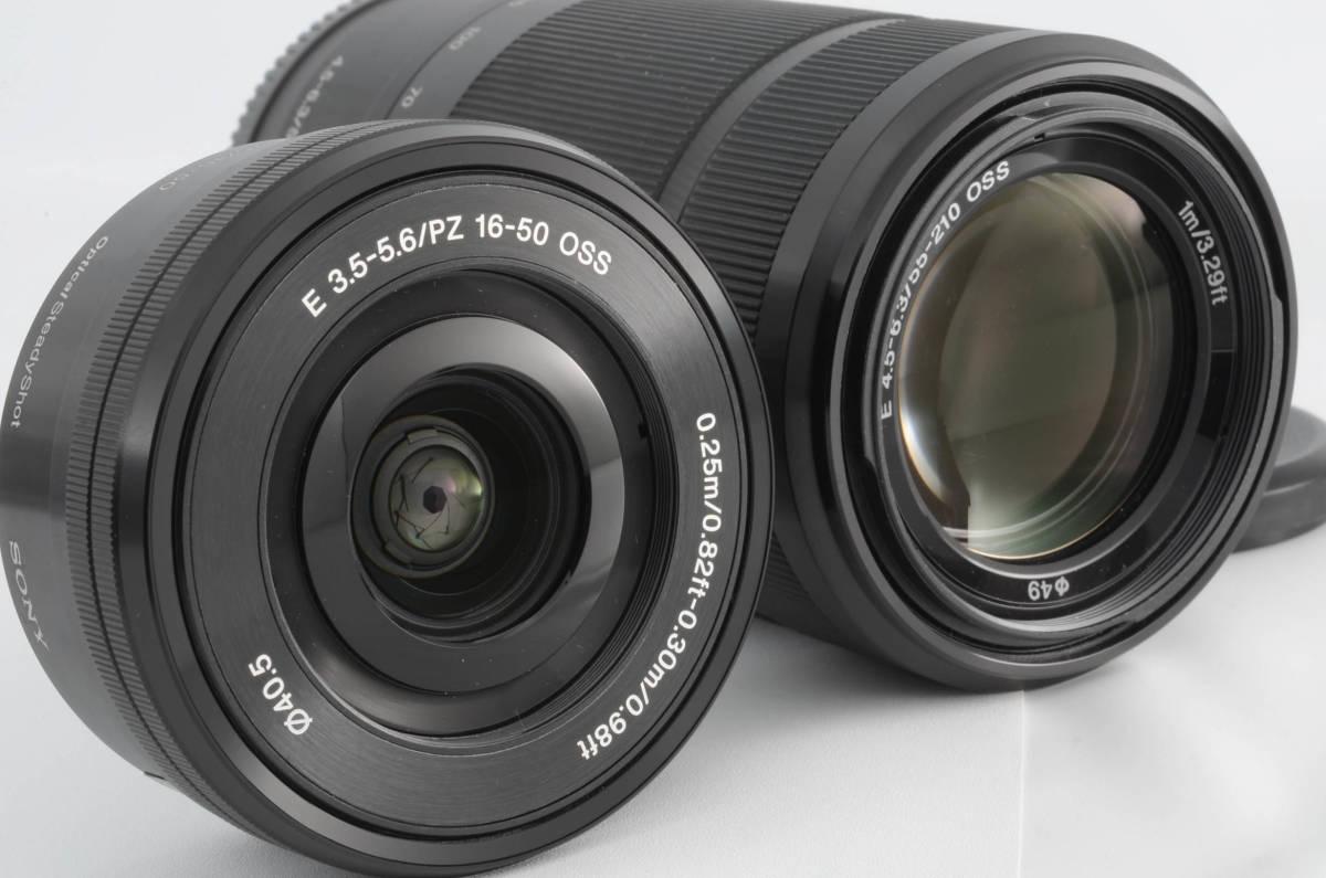 ◆新品級◆ ソニー Sony ILCE-6000Y α6000 ダブルズームレンズキット ブラック 元箱付き (YO-R05)_画像8