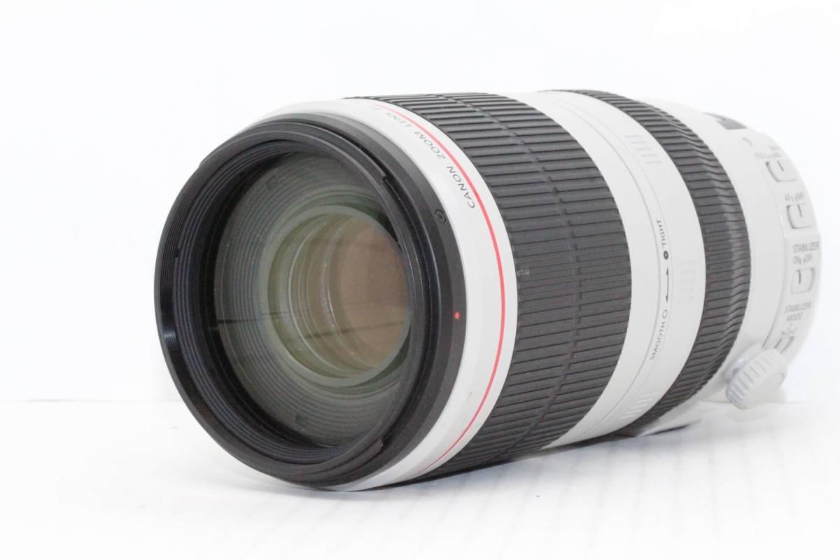 ほぼ新品 キヤノン Canon EF 100-400mm F4.5-5.6L IS II USM ケース付き (ny033)_画像2