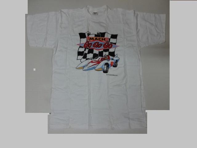 マッハGOGO スピードレーサー タツノコプロ Tシャツ 非売品 未使用品 バンプレ ③_画像2