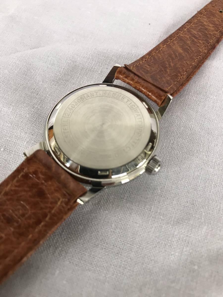 citizen ジュニア 17石 WATERPROTECTED PARA SHOCK PHYNOX 手巻き時計 機械式 メンズ腕時計 当時物 動作品_画像5