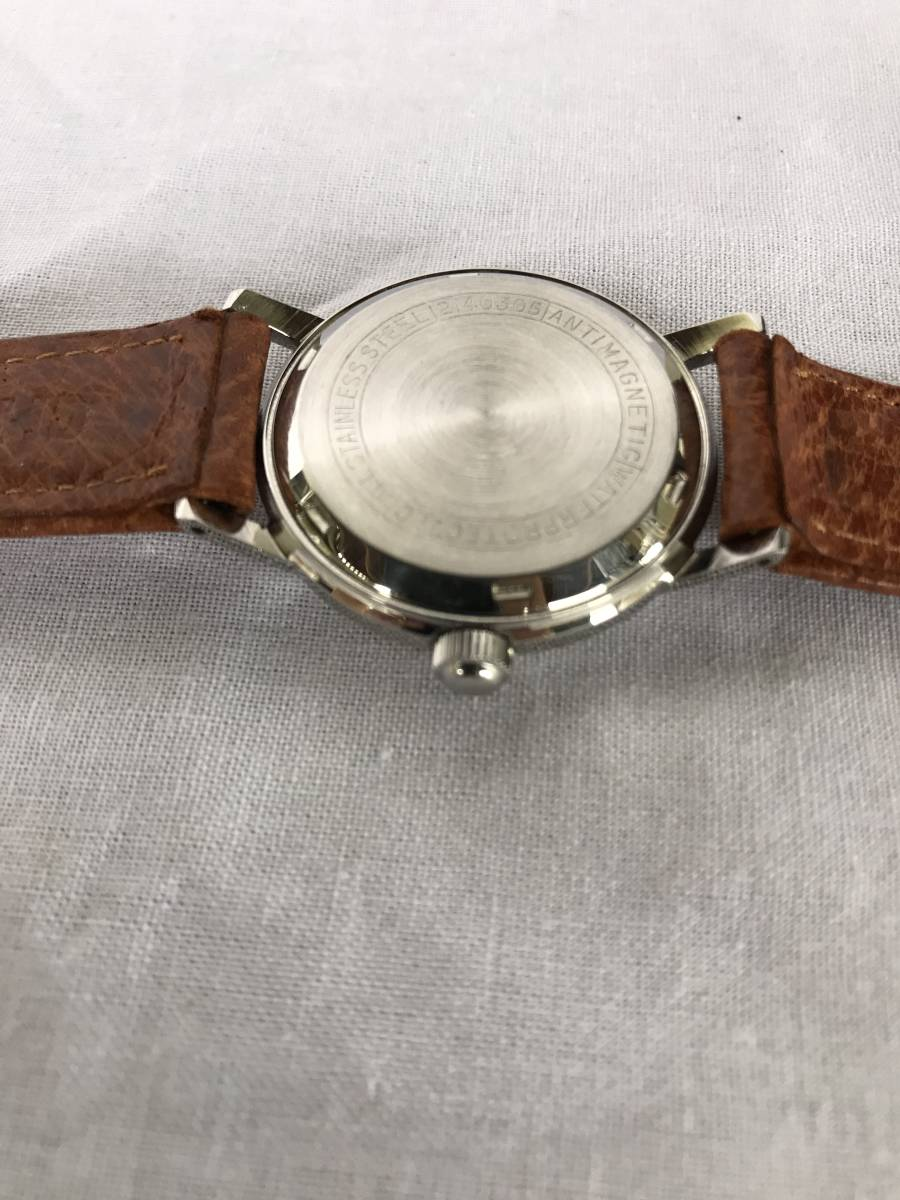 citizen ジュニア 17石 WATERPROTECTED PARA SHOCK PHYNOX 手巻き時計 機械式 メンズ腕時計 当時物 動作品_画像7