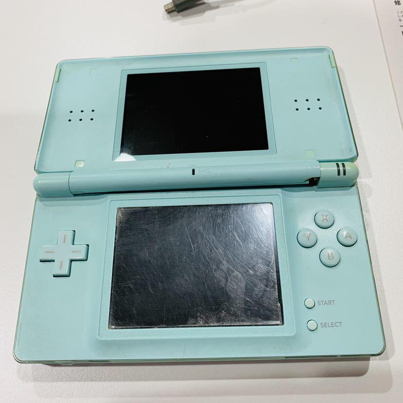 【719-K】1円スタート 任天堂 ニンテンドー DS Lite 2台 充電器付き DS ソフト カセット 付き_画像4