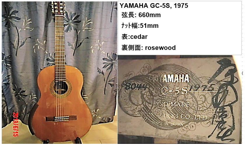 YAMAHA gc-5 原田氏_画像2