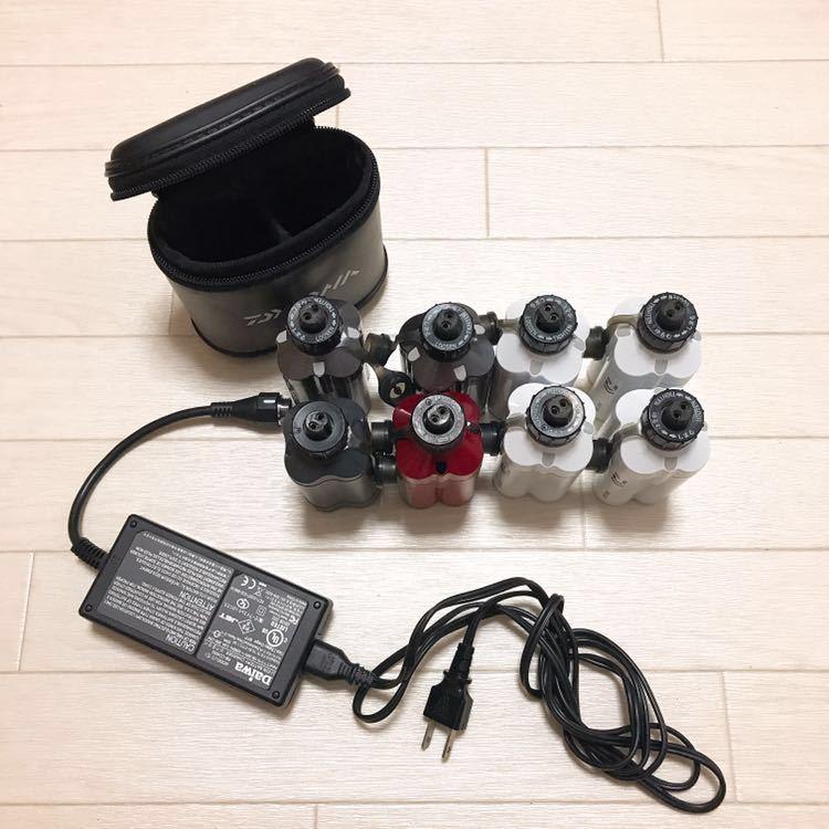 ジャンク 1円スタートDAIWA ダイワ電動リール専用リチウムバッテリー BM2300 BM2000Ⅱ_画像2