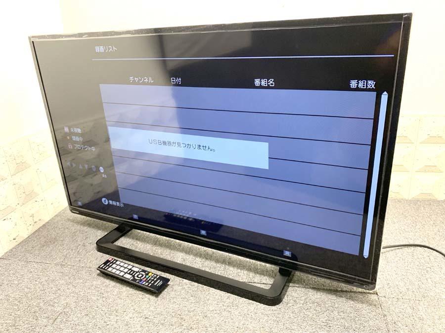 1円~♪ 東芝/TOSHIBA 40型テレビ 40S8 REGZA/レグザ 2014年製 中古 710-3_画像2