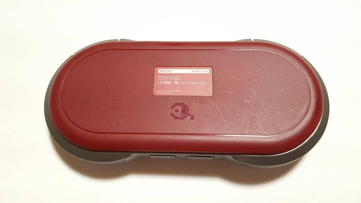 [美品] サイバーガジェット FC30 PRO GAME CONTROLLER コントローラー / Bluetooth / USB接続対応ゲームコントローラー 輸入正規品_画像3
