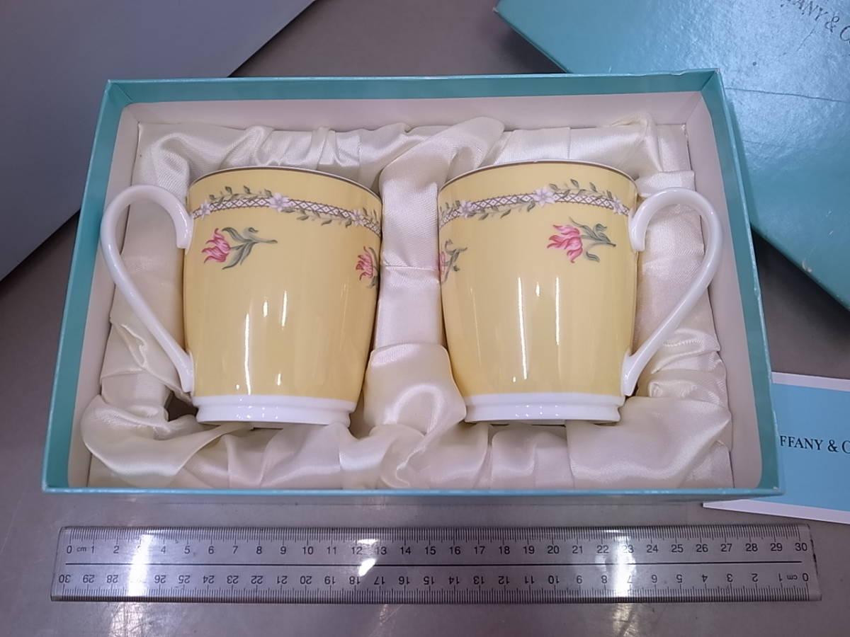 ◆◇未使用 Tiffany&Co. ティファニー ペアマグカップセット◇◆_画像2