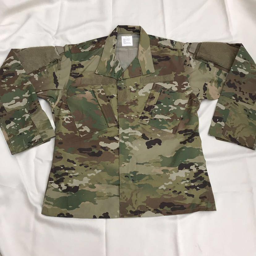 US ARMY ACU Jacket OCP マルチカム 戦闘服 迷彩服 Dead Stock 未使用 Medium Regular 米軍実物 米軍 米陸軍 PROPPER社製 リップストップ_画像1