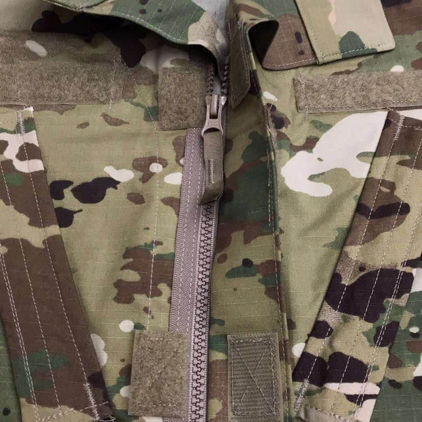 US ARMY ACU Jacket OCP マルチカム 戦闘服 迷彩服 Dead Stock 未使用 Medium Regular 米軍実物 米軍 米陸軍 PROPPER社製 リップストップ_画像4