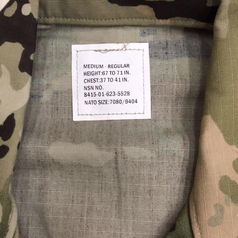 US ARMY ACU Jacket OCP マルチカム 戦闘服 迷彩服 Dead Stock 未使用 Medium Regular 米軍実物 米軍 米陸軍 PROPPER社製 リップストップ_画像2