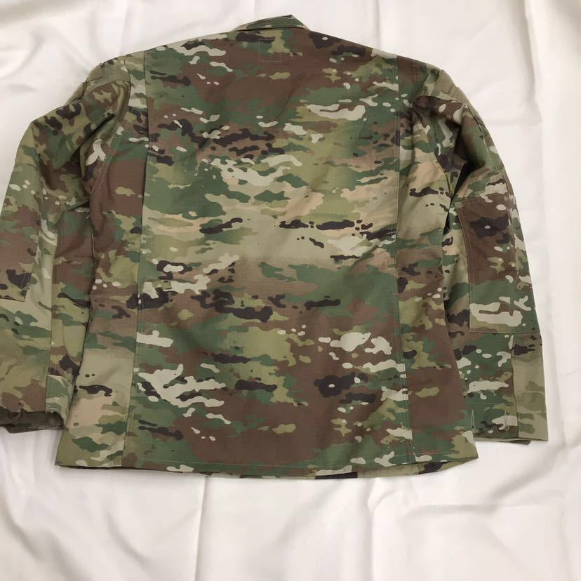 US ARMY ACU Jacket OCP マルチカム 戦闘服 迷彩服 Dead Stock 未使用 Medium Regular 米軍実物 米軍 米陸軍 PROPPER社製 リップストップ_画像7