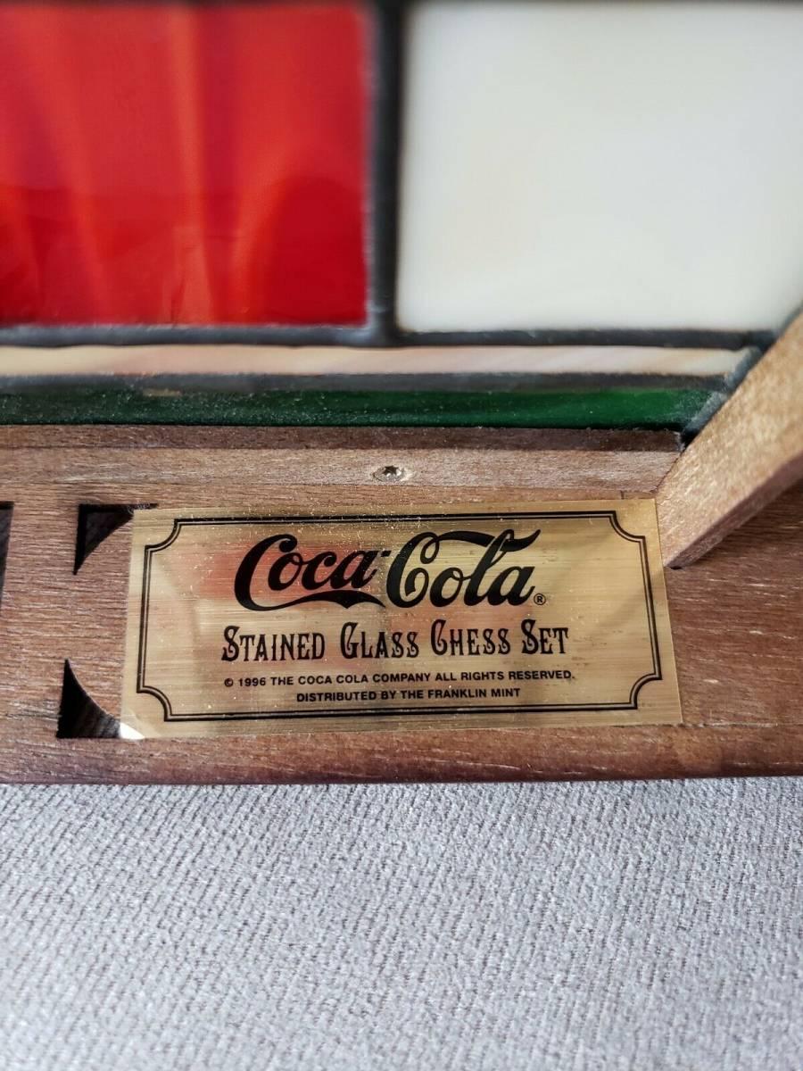 コカ・コーラ ステンドグラス チェスセット 1996年製_画像9