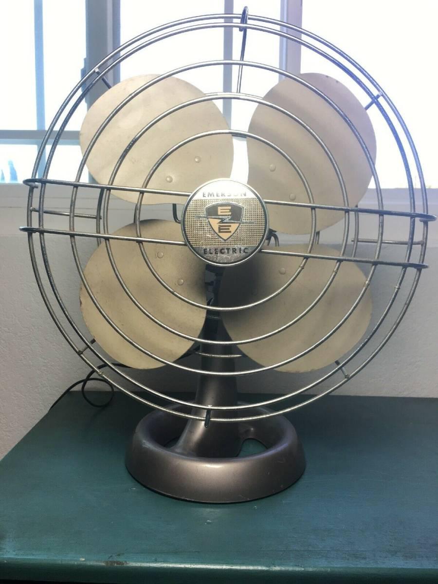 エマーソン エレクトリック 卓上扇風機 1940年代~1950年代