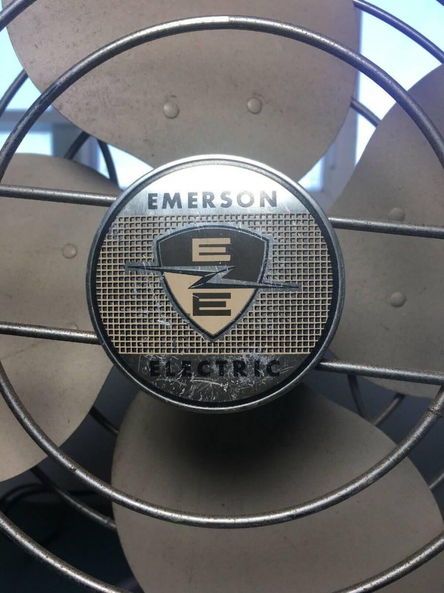 エマーソン エレクトリック 卓上扇風機 1940年代~1950年代_画像2