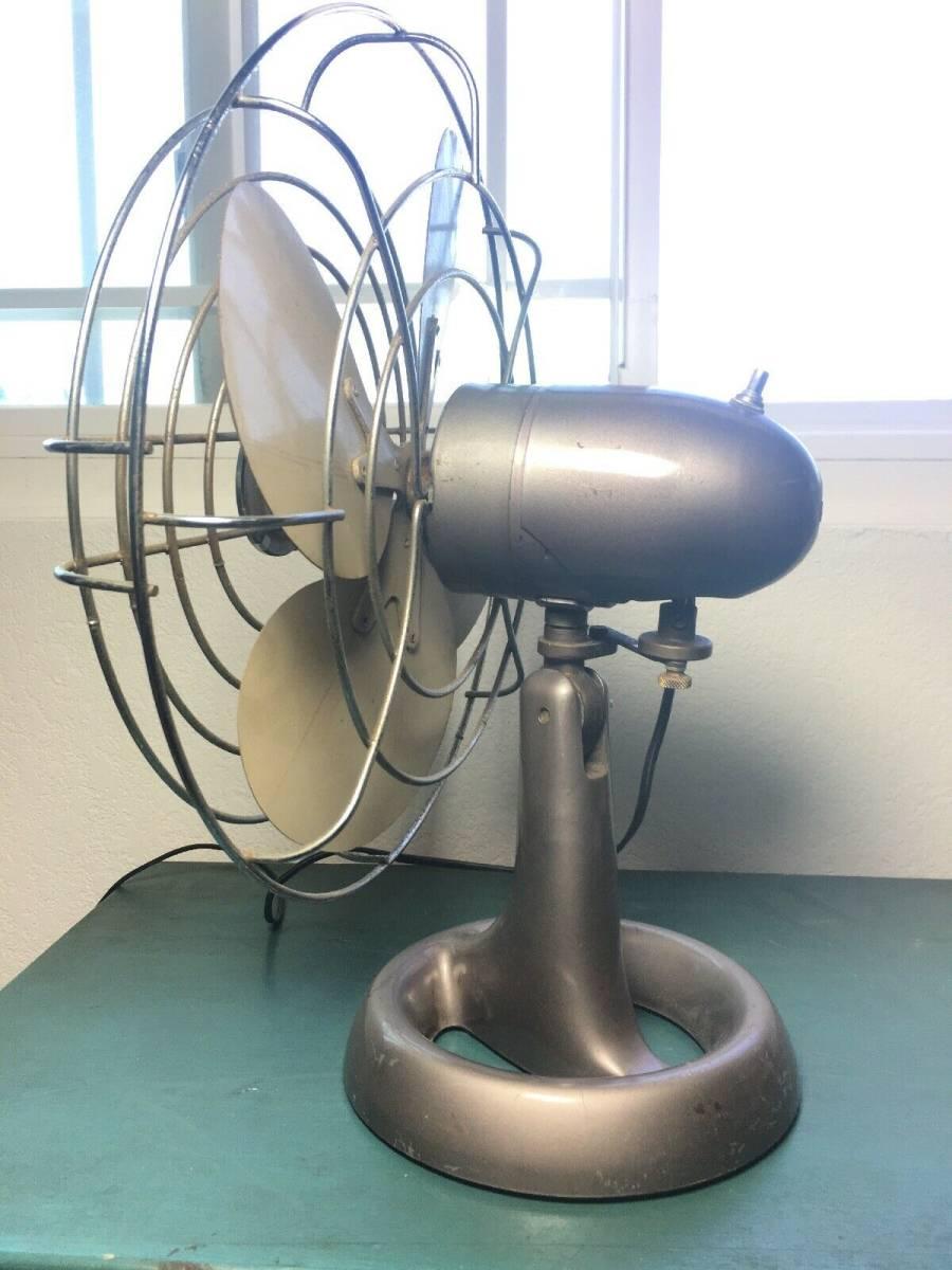 エマーソン エレクトリック 卓上扇風機 1940年代~1950年代_画像4