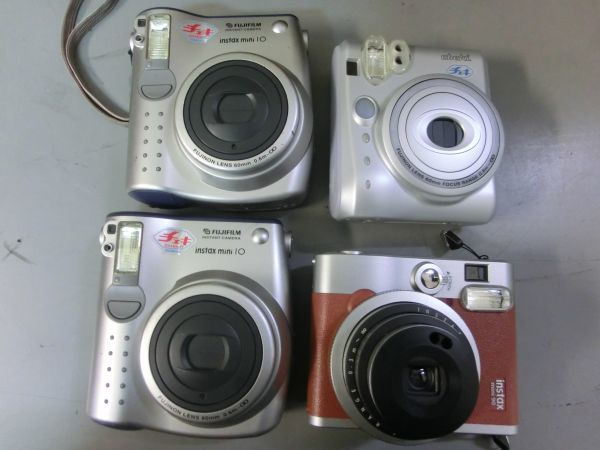 19G9 LN355 POLAROID FUJIFILM ポラロイド フジフィルム 等 フィルム カメラ 22台 まとめ売り 部品どりに ジャンク_画像5