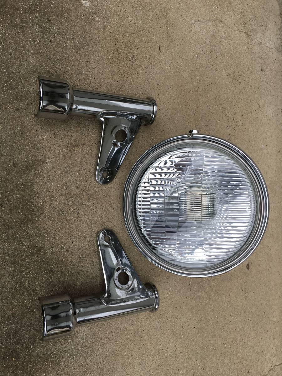 GB250クラブマン4型 ヘッドライトとステイ