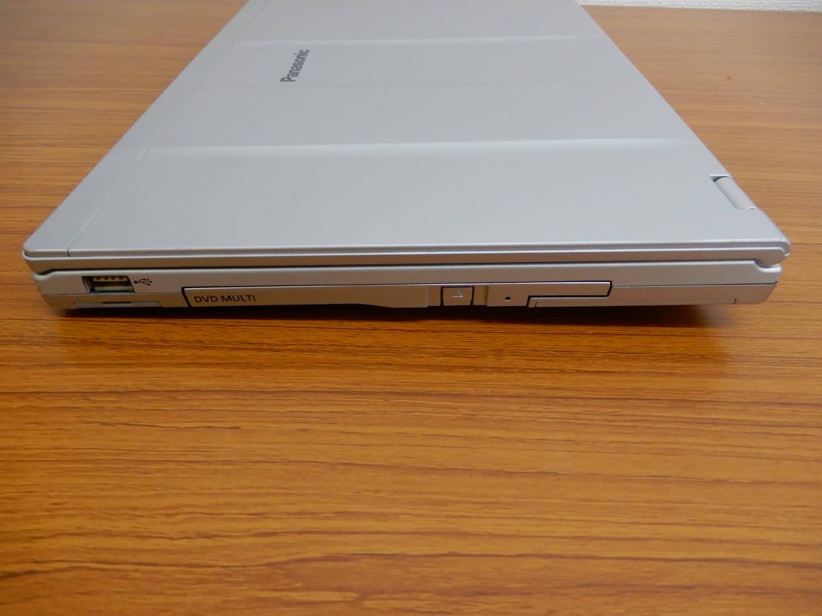 パナソニック レッツノート CF-LX4 ★軽量・高剛性 ★新品SSD + RAM8.0GBで高速動作 ★使いみちの多い14インチ画面_画像8