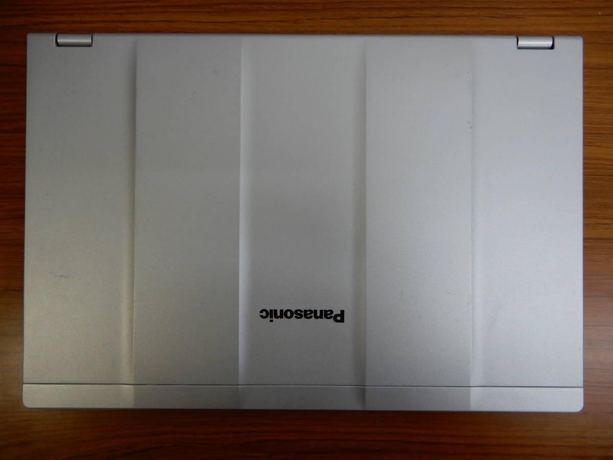 パナソニック レッツノート CF-LX4 ★軽量・高剛性 ★新品SSD + RAM8.0GBで高速動作 ★使いみちの多い14インチ画面_画像5